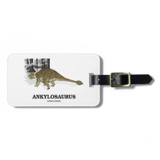 Ankylosaurus (Fused Lizard Dinosaur) Bag Tag