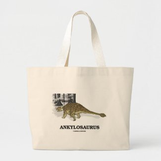 Ankylosaurus (Fused Lizard Dinosaur) Canvas Bag