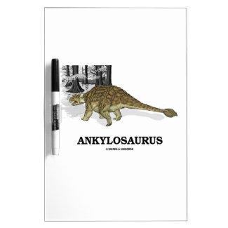 Ankylosaurus (Fused Lizard Dinosaur) Dry Erase Boards