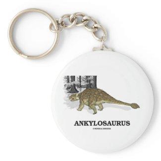 Ankylosaurus (Fused Lizard Dinosaur) Key Chain