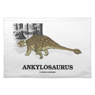 Ankylosaurus (Fused Lizard Dinosaur) Place Mat