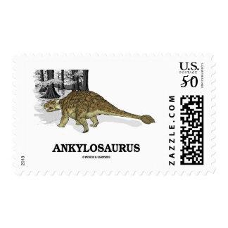Ankylosaurus (Fused Lizard Dinosaur) Postage
