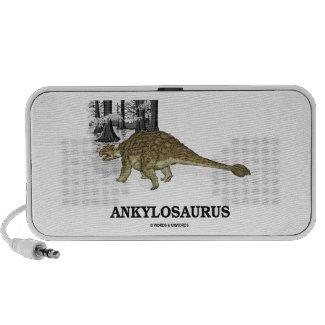 Ankylosaurus (Fused Lizard Dinosaur) Portable Speakers