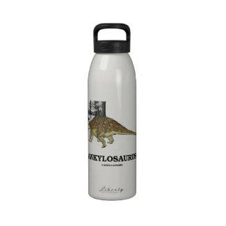 Ankylosaurus (Fused Lizard Dinosaur) Drinking Bottles