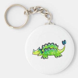 Ankylosaurus Key Chain