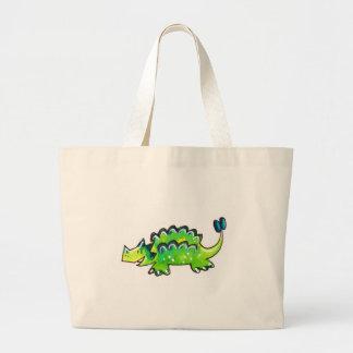 Ankylosaurus Large Tote Bag
