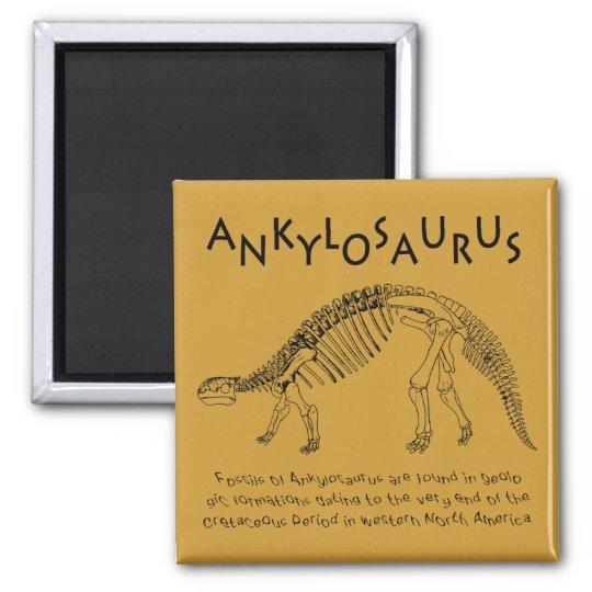 Ankylosaurus Magnet