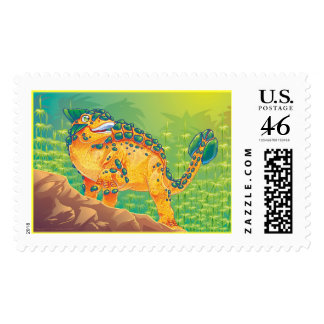 Ankylosaurus Postage Stamps