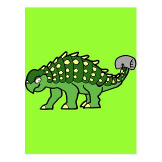 Ankylosaurus Postcard
