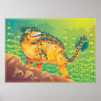 Ankylosaurus Póster