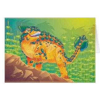 Ankylosaurus Tarjeta