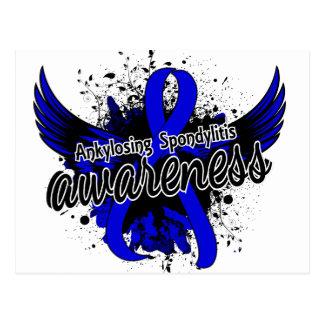 Ankylosing Spondylitis Awareness 16 Postcard
