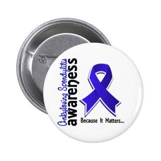 Ankylosing Spondylitis Awareness 5 Pinback Buttons