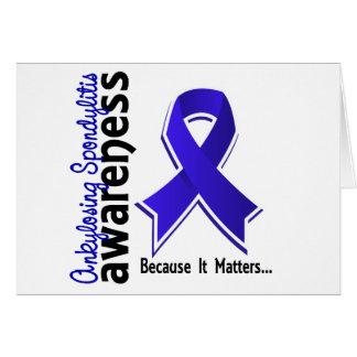 Ankylosing Spondylitis Awareness 5 Greeting Cards
