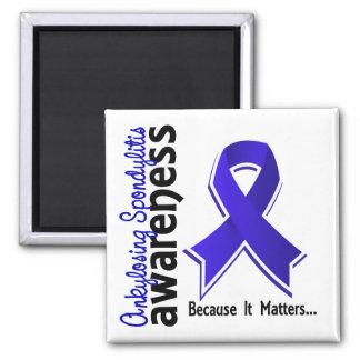 Ankylosing Spondylitis Awareness 5 Magnet