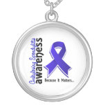 Ankylosing Spondylitis Awareness 5 Personalized Necklace