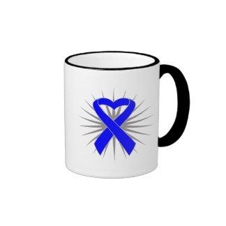 Ankylosing Spondylitis Awareness Heart Ribbon Coffee Mug