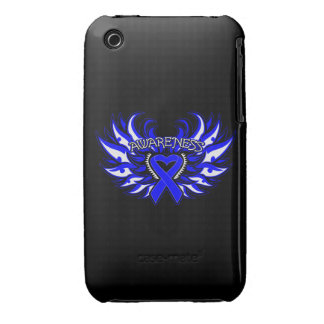 Ankylosing Spondylitis Awareness Heart Wings iPhone 3 Case-Mate Cases