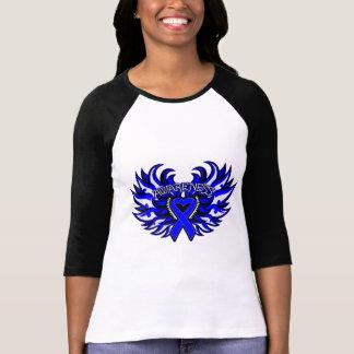 Ankylosing Spondylitis Awareness Heart Wings.png Tee Shirts