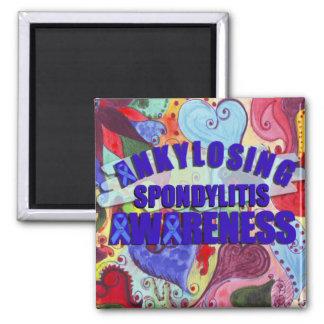 Ankylosing Spondylitis Awareness magnet
