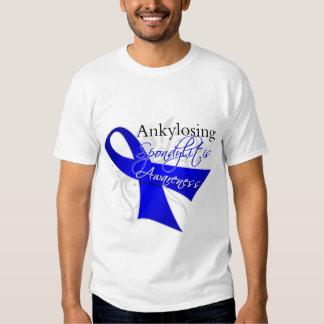 Ankylosing Spondylitis Awareness Ribbon T-Shirt