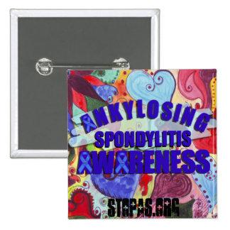 Ankylosing Spondylitis Awareness Sq LoveButton Button