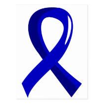Ankylosing Spondylitis Blue Ribbon 3 Postcard