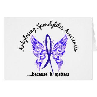 Ankylosing Spondylitis Butterfly 6.1 Card