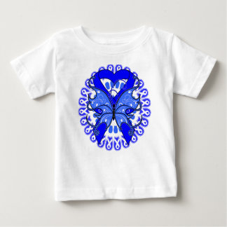 Ankylosing Spondylitis Butterfly Circle of Ribbons Tshirts