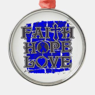 Ankylosing Spondylitis Faith Hope Love Ornaments