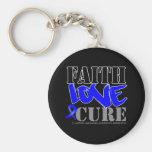 Ankylosing Spondylitis Faith Love Cure Keychain