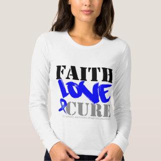 Ankylosing Spondylitis Faith Love Cure Shirt