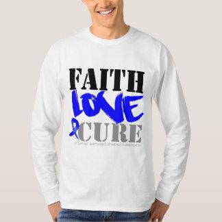 Ankylosing Spondylitis Faith Love Cure Shirts