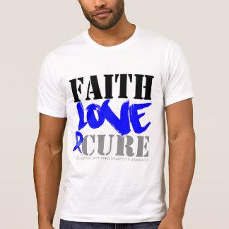 Ankylosing Spondylitis Faith Love Cure Tee Shirts