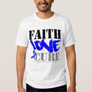 Ankylosing Spondylitis Faith Love Cure Tees