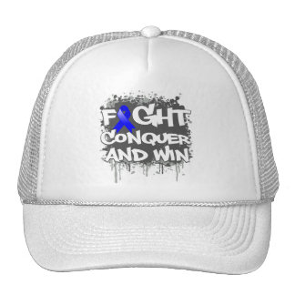 Ankylosing Spondylitis Fight Conquer and Win Hat