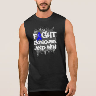 Ankylosing Spondylitis Fight Conquer and Win Sleeveless Shirt