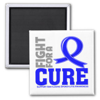 Ankylosing Spondylitis Fight For A Cure 2 Inch Square Magnet