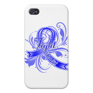 Ankylosing Spondylitis Fight Like a Girl Flourish Covers For iPhone 4
