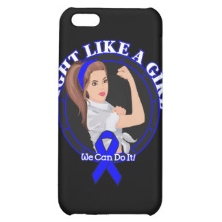 Ankylosing Spondylitis Fight Like A Girl Mod Rosie iPhone 5C Cases