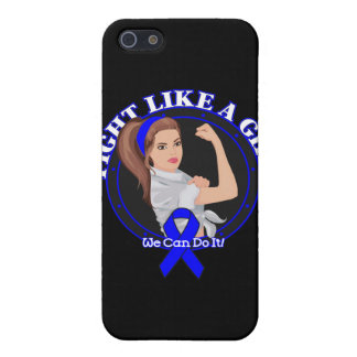 Ankylosing Spondylitis Fight Like A Girl Mod Rosie Cases For iPhone 5