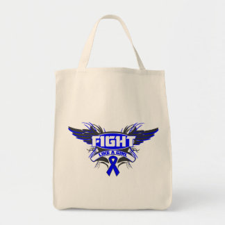 Ankylosing Spondylitis Fight Like a Girl Wings.png Bags