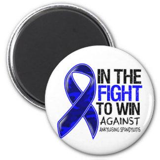 Ankylosing Spondylitis - Fight To Win 2 Inch Round Magnet