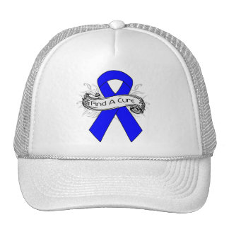 Ankylosing Spondylitis Find A Cure Ribbon Trucker Hat