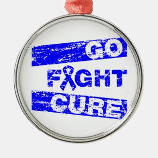 Ankylosing Spondylitis Go Fight Cure Christmas Tree Ornament