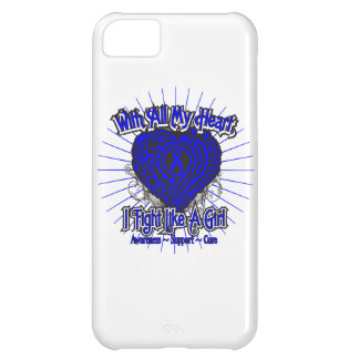 Ankylosing Spondylitis Heart I Fight Like A Girl Cover For iPhone 5C