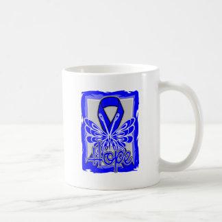 Ankylosing Spondylitis Hope Butterfly Classic White Coffee Mug