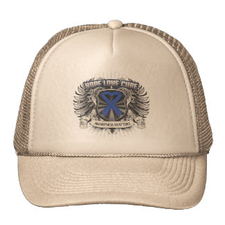 Ankylosing Spondylitis Hope Love Cure Mesh Hat