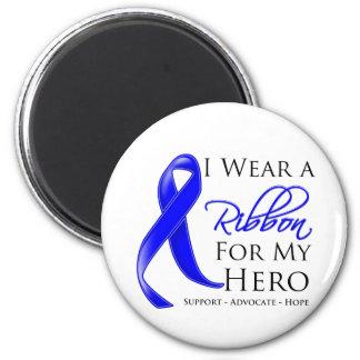 Ankylosing Spondylitis I Wear a Ribbon For My Hero 2 Inch Round Magnet