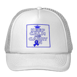 Ankylosing Spondylitis Keep Calm and Carry ON Trucker Hat